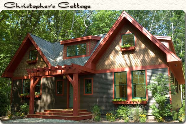 Build a cottage home like this one in Harbor Country